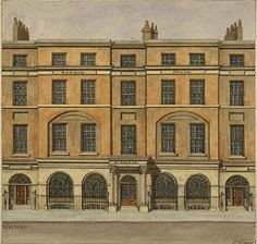 George Seddon's Shop, Aldersgate Street, 1753. Seddon (1727-1801) was the founder of the largest firm of furniture-makers in London. His workshop was described by London visitor Sophie v. La Roche in 1786: He employs 400 apprentices on any work connected with the making of household furniture—joiners, carvers, gilders, mirror-workers, upholsterers, girdlers—who mould the bronze into graceful patterns—& locksmiths. All housed in a building with 6 wings...