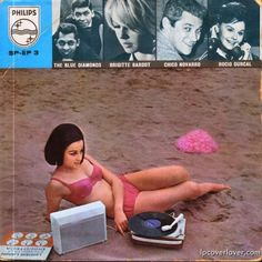philips record compilation from france with a cut by brigitte bardot 1960s lpcoverlover front shot finished vinyl record