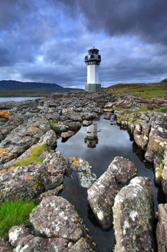 My first top favorite photo from Scotland. Rhue Lighthouse, Sutherland, Highlands in Scotland Oh The Places You'll Go, Places To Travel, Places To Visit, Beautiful World, Beautiful Places, Scotland Travel, Highlands Scotland, Scottish Highlands, Scotland Uk
