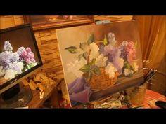 Мастер класс  сирень маслом с Александром Гнилицким - YouTube