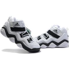 Adidas TOP TEN 2000 Kobe Bryant TianZu Complex Moment White/Black... via Polyvore