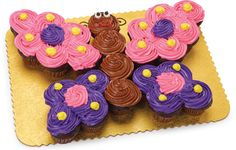 Cupcakes Archives - Save-On-Foods Butterfly Cupcake Cake, Butterfly Birthday Cakes, Cupcake Birthday Cake, Butterfly Party, Cupcakes Design, Cupcake Cake Designs, Pull Apart Cupcake Cake, Pull Apart Cake, Cakepops