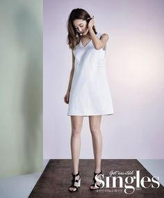 Gong Hyo Jin for Singles Magazine, May 2015