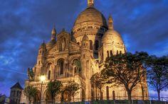 """* Basílica de """"Sacre-Coeur"""" * # Paris, França."""