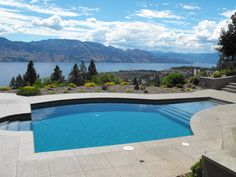 Lakeview Memories Boutique B & B, Our salt water pool on a hot summer day. West Kelowna, Okanagan Valley, Canada, BC, #travel, #accommodation