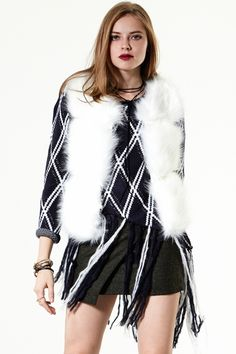 Not A Real Faux Fur Vest Discover the latest fashion trends online at storets.com