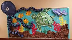 Under the sea  bulletin board