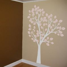 Browse tons of stunning tree wall decals like the Tall Tree Waving in Wind at Dali Decals. Nursery Wall Murals, Baby Makes, Nursery Design, Tree Wall, My Baby Girl, Vinyl Wall Decals, Decorating Your Home, Mural Ideas, Baby Fever