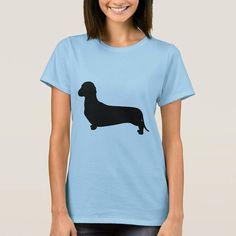 Ladies love wieners! http://ift.tt/2tThZMZ #wienerdog #hotdog #Dachshundsilhouette #womentshirt #womensgift #personalizedgift