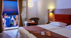Heraklion Crete: Sirens resort provides its guests beautiful bungalows in Malia, all fully equipped. Heraklion, Crete, Sirens, Bungalow, Bed, Room, Furniture, Beautiful, Home Decor