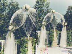 Wedding Arch via Caprice Design