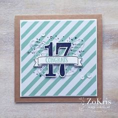 ZoKris - You're So Lovely, Gorgeous Grunge, Number of Years - Stampin' Up!