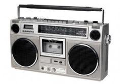 The Boom Box music radio cassette player / retro eighties - childhood / nostalgia Childhood Toys, Childhood Memories, Radios, Ol Days, Teenage Years, Boombox, Do You Remember, Sweet Memories, The Good Old Days