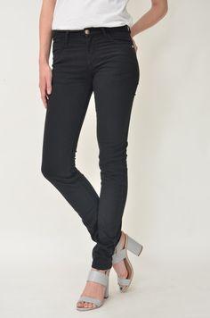 ECOSPHERE • ekologiska, etiska & klimatsmarta kläder & accessoarer - Monkee Genes - Classic Skinny Sateen, Black
