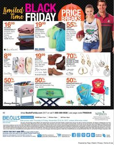 Bealls Florida Black Friday 2017 Ads and Deals Browse huge deals and savings as part of the Bealls Florida Black Friday 2017 sale. Find the cheapest prices of the year on everything from fashion fo. Coral Boots, Black Friday 2017 Ads, Team Apparel, Shirt Sleeves, Coupons, Florida, Lady, Women, Fashion