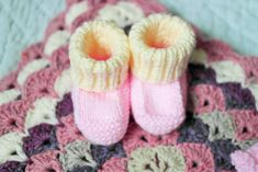 Ravelry: Prisca's Baby Booties by Knot Sew Prisca