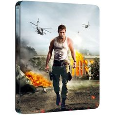 White House Down Blu-ray Region A /Steelbook Korea Ver/Channing Tatum,Jamie Foxx