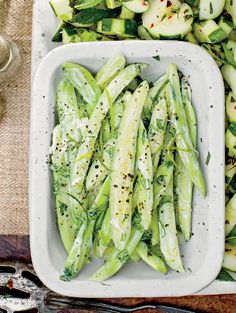 this cucumber salad recipe may just be the most refreshing thing you eat all summer, via @southernliving