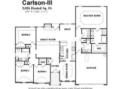 four bedroom ranch house plans - Four Bedroom Ranch House Plans