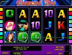 Играть в казино Вулкан на Diamond Trio Слот Diamond Trio от разработчика Novomatic перенесет игроков Вулкан в мир приключений, шпионов, крутых спортивных автомобилей и чрезвычайно крупных бриллиантов. Воспользуйтесь понятным интерфейсом для ознакомления с правилами и начина