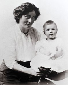 Family photo of Irene Corbett and her 1-year-old son, Mack. Irene Corbett, who was returning from midwife-nursing training in England, was the only Utahn who died on the Titanic. Photo courtesy of Don Corbett