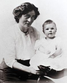 #IreneCorbett & year-old son Mack She died on #Titanic. #photo courtesy of Don Corbett