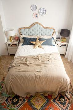 Nuestra habitación (casi 100%) DIY Our (almost 100%) DIY bedroom