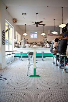 The Life Aquatic: A Maritime-Inspired Oyster Bar by Alexa Hotz Classic American oyster bar in Austin, Texas