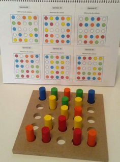 Introduction to first logic activities for toddlers Montessori Activities, Kindergarten Math, Toddler Activities, Learning Activities, Preschool Activities, Kids Learning, Visual Perceptual Activities, Elderly Activities, Maria Montessori