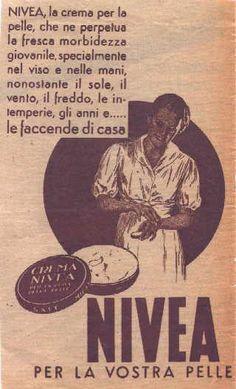 IL VECCHIO: Pubblicità farmaci e profumi, Pubblicità Nivea 8