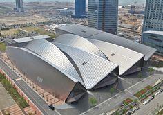 Convensia Convention Center, Songdo, Korea by KPF Associates