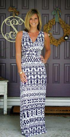 Stitch Fix Market & Spruce Persia Maxi Dress - great maxi dress and print!