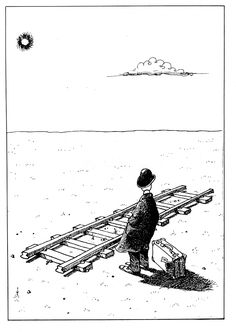 by Quino - I think this might be about my life.