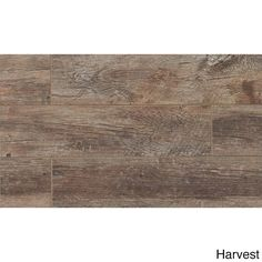 Give your floors a brand new look with the Barrel Field Tile Harvest tiles. Make your floor new in this porcelain tile, crafted to emulate aged wood wine barrels. The tiles feature a spread of three c