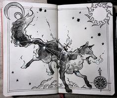 ⭐️ Vulpecula, the fox constellation ⭐️ Corvus, the raven constellation