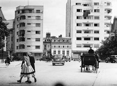 Bucharest, 1937, 100 de ani de evoluție într-o fotografie  Foto: Willy Pragher(1937)