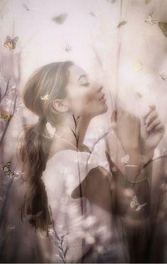 Raindrops and Roses Fernanda Young, Double Exposition, Raindrops And Roses, Fade Out, Double Exposure, Beautiful Images, Beautiful Women, Romans, Daydream