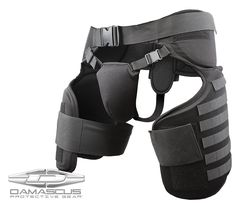 This Damascus® Imperial™ Thigh/Groin Protector with Molle System is designed to compliment the and Upper Body, Chest and Shoulder Protection Systems also from Damascus Holsters, Molle System, Molle Pouches, Duty Gear, Black Fire, Body Armor, Armor Suit, Black Mamba, Shopping