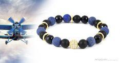 Szeretem az anyukámat ásványkarkötő A 17, Lapis Lazuli, Beaded Bracelets, Men, Jewelry, Fashion, Jewellery Making, Moda, Pearl Bracelets