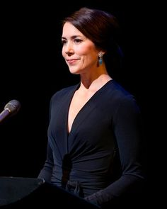 Crown Princess Mary of Denmark presenting the Cancer Society's Honour Award 2016 - 04.02.16