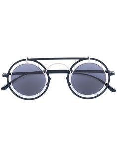 Black Bernhard Willhelm Edition Blaze MD1 Sunglasses Mykita w00xXMe