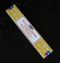 Egyptian Musk Incense Sticks. 15gm incense sticks.