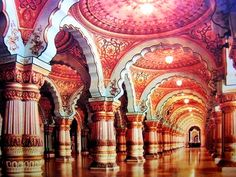 Beautiful Places...The Palace of Maharaja-of-Mysore, Mysore, India, photo by Thomas Taylor & Laura Ramsey.
