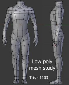 Lowpoly body mesh study - polycount forum topology in 2019 m Character Design Sketches, 3d Model Character, Game Character Design, Character Modeling, Maya Modeling, Modeling Tips, Zbrush, 3d Modellierung, Blender 3d