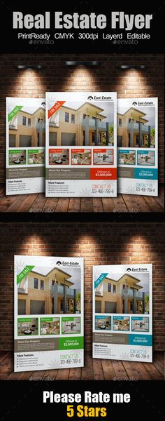 A4 Real Estate Flyer Template PSD | Buy and Download: http://graphicriver.net/item/a4-real-estate-flyer/9168918?WT.oss_phrase=&WT.oss_rank=102&WT.z_author=designhub719&WT.ac=search_thumb&ref=ksioks