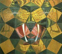 dali  #salvador #dali  #tiger