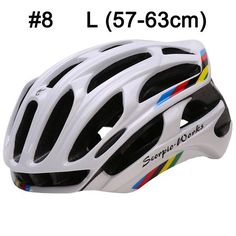 Bicycle Helmet Integrally-molded Cycling Helmet Outdoor Sports Road Mountain MTB Bike Helmet With LED Warning Lights