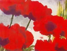 Emil Nolde - PoppiesEmile Nolde (German~Danish 1867~1956) | He was one of the first Expressionists, a member of Die Brücke.Artist Emile NoldeFosterginger.Pinterest.ComMore Pins Like This One At FOSTERGINGER @ PINTEREST No Pin Limitsでこのようなピンがいっぱいになるピンの限界He was one of the first Expressionists, a member of Die Brücke, and is considered to be one of the great oil painting and watercolour painters of the 20th century.