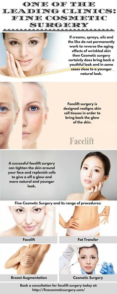 Fine Cosmetic Surgery offers its patients various cosmetic surgeries with advanced technology and modern techniques. The clinics expert and highly experienced doctors perform these complex surgeries to give patients a peace of mind.