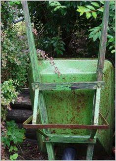 What a wonderful wheelbarrow!